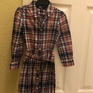 Girls Ralph Lauren Plaid Dress